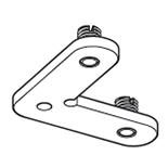 Hoekverbinder zonder oog (4048-ZO)