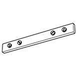 Verbindingsstuk aluminium naturel (5152-N)