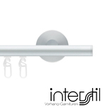 Railroede Interstil 16 mm Rond Aluminium