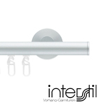 Railroede Interstil 22 mm Rond Aluminium