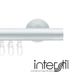 Gordijnroede Railroede Interstil 25 mm aluminium