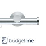 Gordijnroede Railroede Budgetline 28 mm edelstaal