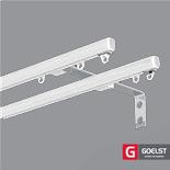 Dubbele Gordijnrails G-2102