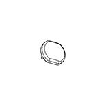Goelst Kunststof Einddeksel Wit (4253-W) | Geschikt voor G-4200