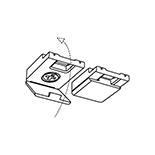 Goelst Plafondsteun Zwart (2150-ZW)   Geschikt voor G-2XXX