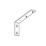Goelst Wandsteun Zwaar 15 cm Mat Zilver excl. 2150 (2018-NM-15)   Geschikt voor G-2XXX, G-4800 en G-