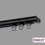 Gordijnrails DS-Rail Forest Zwart