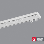 Dubbele gordijnrails G-2901